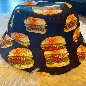 Cool cheeseburger hat
